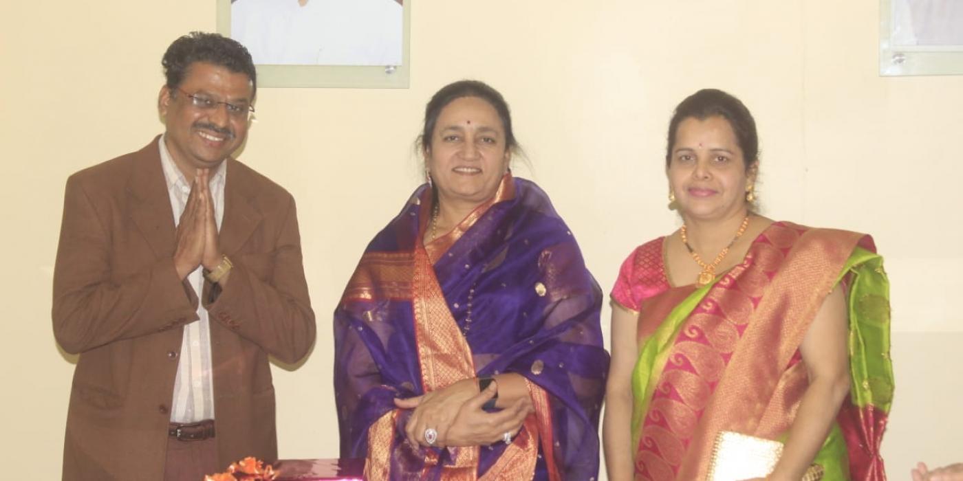 With Vaishali tai